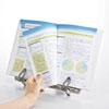 データホルダー 書見台 ブックスタンド A4対応 縦横両対応 ホワイト