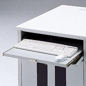 鍵付きキーボードスライダー