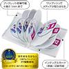 DVD保管ケース(12枚収納・ホワイト・27mm)