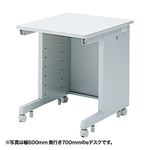 【注文後5週間納期】【返品不可】eデスク(Sタイプ・W600×D800mm)