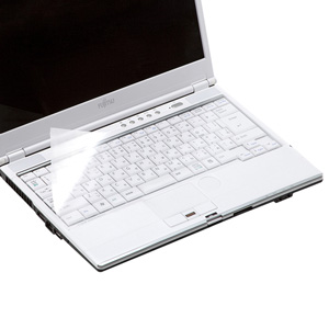 ノートPC用キーボードカバー(13.3~15.4インチ対応・マルチタイプ・テンキー無し用)
