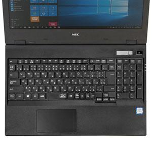 NEC VersaPro/Pro J 5世代 VD/VX/VL用キーボードカバー(シリコン・テンキーあり・クリア)
