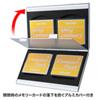 【わけあり在庫処分】アルミメモリーカードケース(CFカード用・両面収納タイプ)