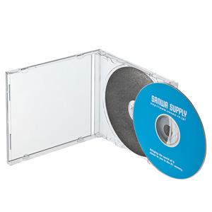 DVD・CDプラケース(保護マット付・3枚セット)
