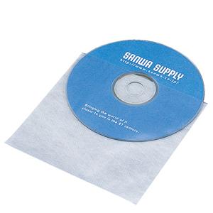 DVD・CD用不織布ケース(1枚収納・100枚セット)