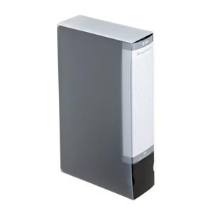 ブルーレイディスク対応ファイルケース(64枚収納・ブラック)