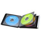 ブルーレイディスク対応ポータブルハードケース(8枚収納・ブラック)
