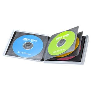 ブルーレイディスク対応ポータブルハードケース(8枚収納・ホワイト)