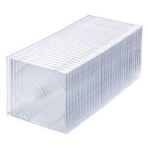 DVD・CDケース(30枚セット・クリア・10mm)
