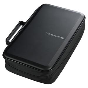 ブルーレイディスク対応セミハードケース(104枚収納・ブラック)
