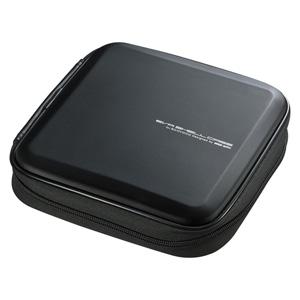 ブルーレイディスク対応セミハードケース(24枚収納・ブラック)