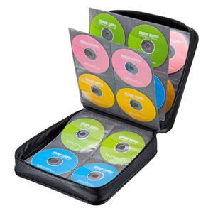 セミハードケース(BD/CD/DVD対応・320枚収納・PP製・ブラック)