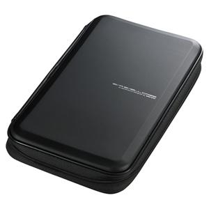 ブルーレイディスク対応セミハードケース(56枚収納・ブラック)