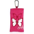 【わけあり在庫処分】 スマートフォンケース 「GOLLA mobile bag CRISP」 カラビナ付・ピンク