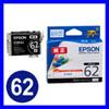 ICBK62 エプソン インクカートリッジ ブラック クリップ