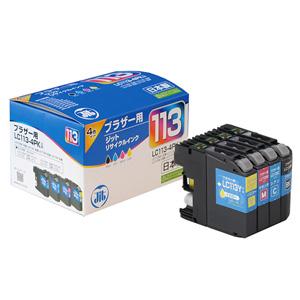 LC113-4PK ブラザー リサイクルインク 4色パック
