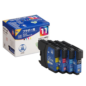 LC11-4PK ブラザー リサイクルインク 4色パック
