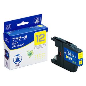 LC12Y ブラザー リサイクルインク イエロー