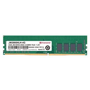 Transcend デスクトップ用メモリ 4GB DDR4-2400 PC4-19200 U-DIMM JM2400HLH-4G