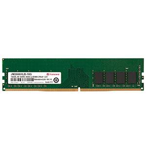 Transcend デスクトップ用メモリ 16GB DDR4-2666 PC4-21300 U-DIMM JM2666HLB-16G