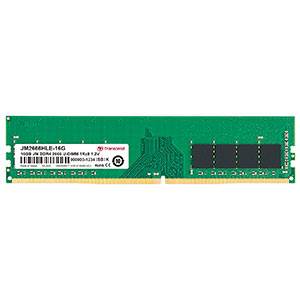 Transcend デスクトップ用メモリ 16GB DDR4-2666 PC4-21300 U-DIMM JM2666HLE-16G