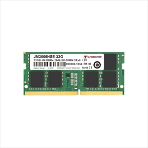 Transcend ノートパソコン用メモリ 32GB DDR4-2666 PC4-21300 SO-DIMM JM2666HSE-32G