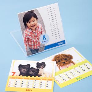手作りカレンダーキット(卓上・CDサイズ・フォト光沢)