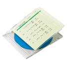 手書き用CD/DVD インデックスカード(グリーン)