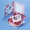 【わけあり在庫処分】CD/DVDインデックスカード(2つ折り・トレーシングペーパー・5シート・インクジェット用)