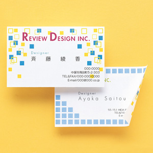 名刺カード(印刷用紙・マルチタイプ・白・厚手・10シート)