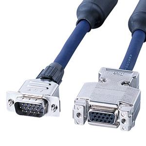 ディスプレイ延長ケーブル(複合同軸・アナログRGB・延長・7m)