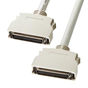 SCSIケーブル(セントロニクスハーフ50pinのSCSI機器同士を接・1m)