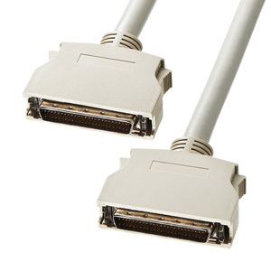 SCSIケーブル(ピンタイプハーフ50pinのSCSI機器同士を接続/1m)