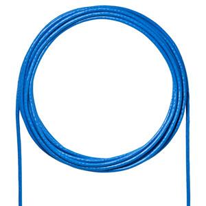 カテゴリ6A LANケーブルのみ(ブルー・100m)