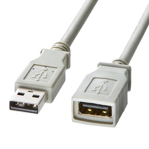 USB2.0延長ケーブル(2m)
