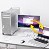 ドラッグ&ドロップ対応USB2.0リンクケーブル(Mac/Windows対応)