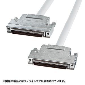 SCSIケーブル(ピンタイプハーフ68pinのSCSI機器同士・1m)