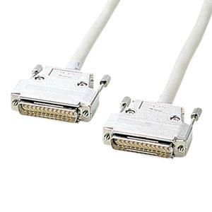 RS-232Cケーブル(25pin/モデム・TA・切替器・10m)