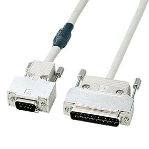 RS-232Cケーブル(モデム・TA・周辺機器・2m)