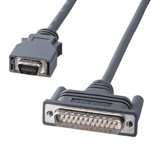 RS-232CケーブルNEC PC9821ノート対応(モデム・TA用・2m)