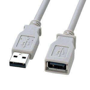 USB2.0延長ケーブル(3m・ノンハロゲン・エコケーブル)
