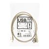 USB2.0延長ケーブル(2m・ノンハロゲン・エコケーブル)