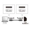 USB Type C ケーブル(USB3.1 Gen1・PD対応・ブラック・2m)