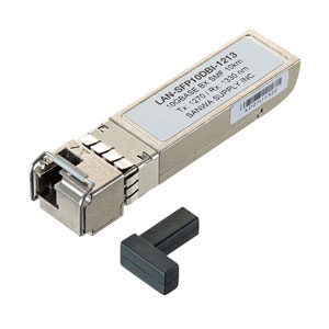 BiDirectional SFPコンバータ(10Gbps)