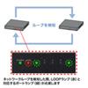 スイッチングハブ(5ポート・ループ検知機能付き)