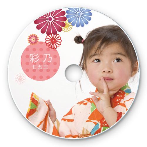 インクジェットフォト光沢DVD・CDラベル(内径17mm・フォト光沢・50シート)