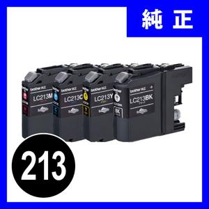 LC213-4PK ブラザーインクカートリッジ 4色パック