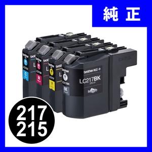 LC217/215-4PK ブラザーインクカートリッジ 4色パック(大容量)