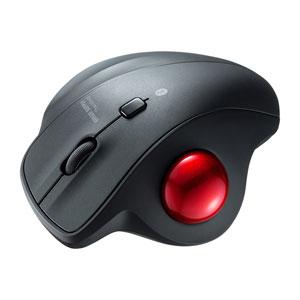 トラックボールマウス(Bluetooth・エルゴノミクス・静音・親指・3ボタン)