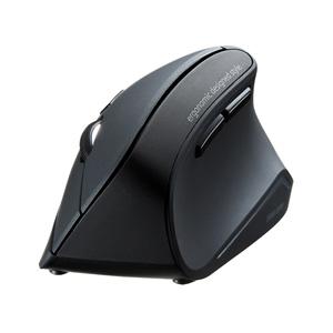 【わけあり在庫処分】エルゴノミクスマウス(Bluetooth・腱鞘炎防止・ブルーLED・6ボタン)